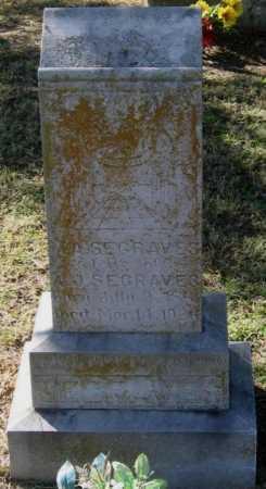 SEGRAVES, MARTHA ANN - Lawrence County, Arkansas | MARTHA ANN SEGRAVES - Arkansas Gravestone Photos