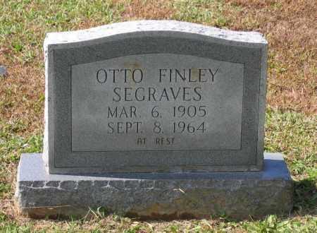 SEGRAVES, OTTO FINLEY - Lawrence County, Arkansas | OTTO FINLEY SEGRAVES - Arkansas Gravestone Photos