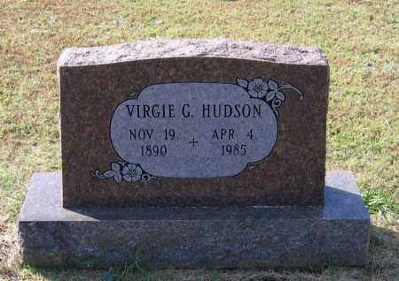 HUDSON, VIRGIE GERTRUDE NORRIS SEGRAVES - Lawrence County, Arkansas | VIRGIE GERTRUDE NORRIS SEGRAVES HUDSON - Arkansas Gravestone Photos
