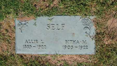 SELF, BITHA M. - Lawrence County, Arkansas | BITHA M. SELF - Arkansas Gravestone Photos