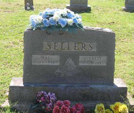 SELLERS, MAE - Lawrence County, Arkansas   MAE SELLERS - Arkansas Gravestone Photos