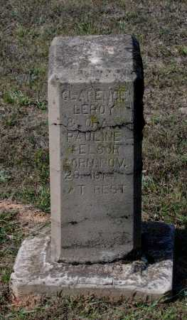 SELSOR, CLARENCE LEROY - Lawrence County, Arkansas | CLARENCE LEROY SELSOR - Arkansas Gravestone Photos