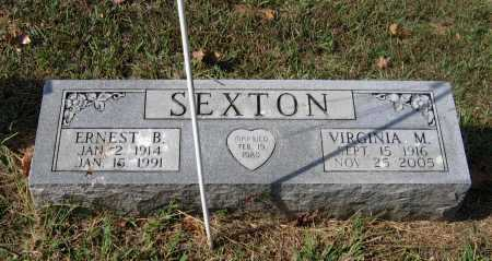 SEXTON, SR., ERNEST BIRTCH - Lawrence County, Arkansas | ERNEST BIRTCH SEXTON, SR. - Arkansas Gravestone Photos