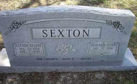 SEXTON, GLENDA ELAINE - Lawrence County, Arkansas | GLENDA ELAINE SEXTON - Arkansas Gravestone Photos