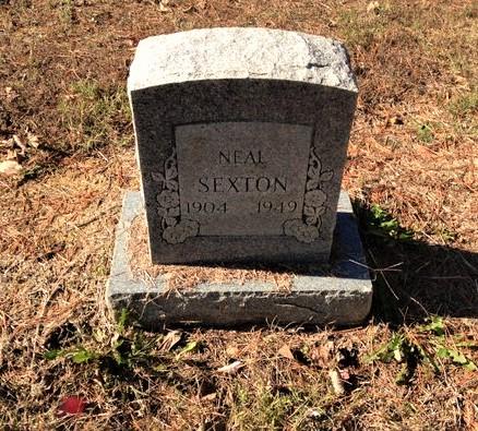 SEXTON, ARTHUR NEAL - Lawrence County, Arkansas | ARTHUR NEAL SEXTON - Arkansas Gravestone Photos