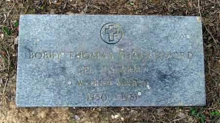 SHACKELFORD (VETERAN WWII), BOBBY THOMAS - Lawrence County, Arkansas | BOBBY THOMAS SHACKELFORD (VETERAN WWII) - Arkansas Gravestone Photos
