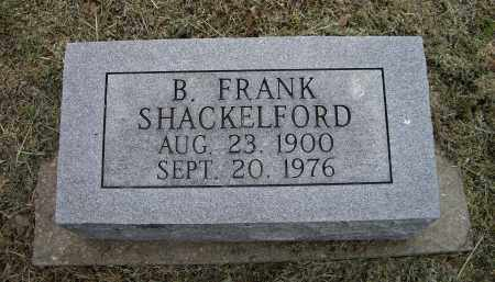 SHACKELFORD, B. FRANK - Lawrence County, Arkansas | B. FRANK SHACKELFORD - Arkansas Gravestone Photos