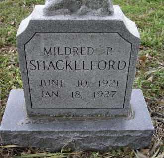 SHACKELFORD, MILDRED P. - Lawrence County, Arkansas   MILDRED P. SHACKELFORD - Arkansas Gravestone Photos