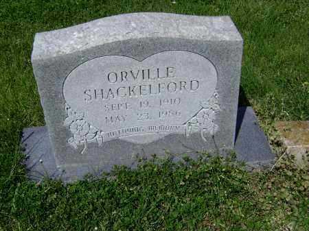 SHACKELFORD, ORVILLE - Lawrence County, Arkansas   ORVILLE SHACKELFORD - Arkansas Gravestone Photos