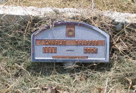 SHAFFER, CHARLIE T. - Lawrence County, Arkansas | CHARLIE T. SHAFFER - Arkansas Gravestone Photos
