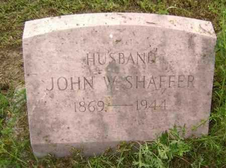 SHAFFER, JOHN W. - Lawrence County, Arkansas | JOHN W. SHAFFER - Arkansas Gravestone Photos