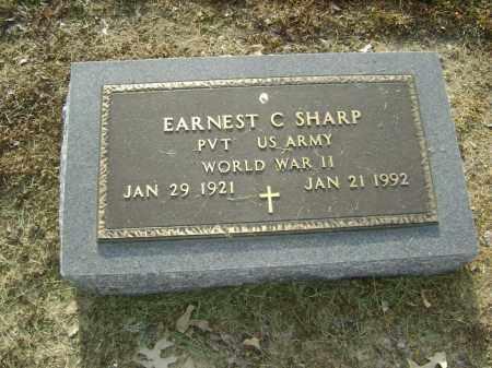 SHARP  (VETERAN WWII), EARNEST CLEO - Lawrence County, Arkansas   EARNEST CLEO SHARP  (VETERAN WWII) - Arkansas Gravestone Photos