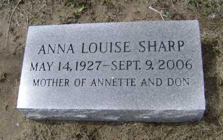 SHARP, ANNA LOUISE - Lawrence County, Arkansas | ANNA LOUISE SHARP - Arkansas Gravestone Photos