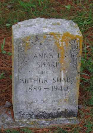SANFORD WILLIAMS, ANNA L. - Lawrence County, Arkansas   ANNA L. SANFORD WILLIAMS - Arkansas Gravestone Photos