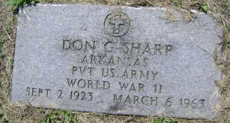 SHARP  (VETERAN WWII), DONALD GILBERT - Lawrence County, Arkansas | DONALD GILBERT SHARP  (VETERAN WWII) - Arkansas Gravestone Photos