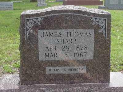 SHARP, JAMES THOMAS - Lawrence County, Arkansas | JAMES THOMAS SHARP - Arkansas Gravestone Photos