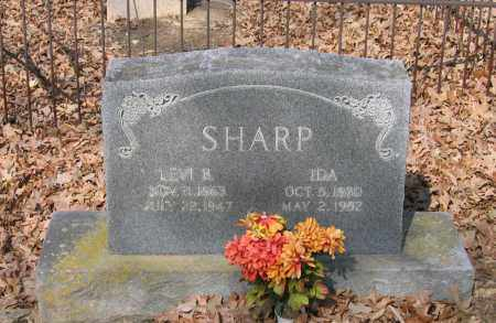 SHARP, IDA PARKER - Lawrence County, Arkansas | IDA PARKER SHARP - Arkansas Gravestone Photos