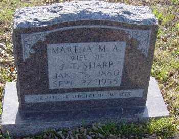 SHARP, MARTHA M. A. - Lawrence County, Arkansas | MARTHA M. A. SHARP - Arkansas Gravestone Photos