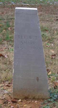 "SHARP, REV., WILLIAM THOMAS ""W. T."" - Lawrence County, Arkansas   WILLIAM THOMAS ""W. T."" SHARP, REV. - Arkansas Gravestone Photos"