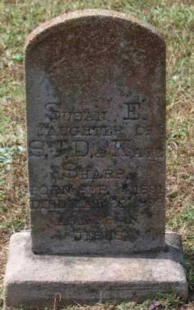 SHARP, SUSAN E. - Lawrence County, Arkansas | SUSAN E. SHARP - Arkansas Gravestone Photos
