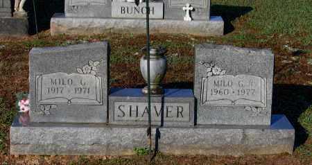 SHAVER, SR., MILO GIFFORD - Lawrence County, Arkansas | MILO GIFFORD SHAVER, SR. - Arkansas Gravestone Photos