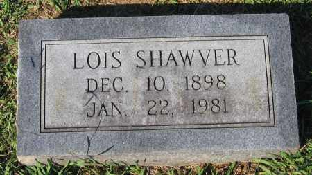 SHAWVER, LOIS - Lawrence County, Arkansas | LOIS SHAWVER - Arkansas Gravestone Photos