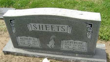 SHEETS, GERTRUDE - Lawrence County, Arkansas | GERTRUDE SHEETS - Arkansas Gravestone Photos