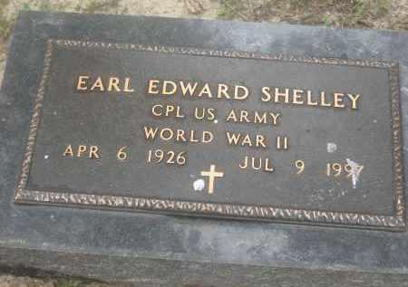 SHELLEY (VETERAN WWII), EARL EDWARD - Lawrence County, Arkansas | EARL EDWARD SHELLEY (VETERAN WWII) - Arkansas Gravestone Photos