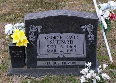 SHEPARD, GEORGE DAVID - Lawrence County, Arkansas   GEORGE DAVID SHEPARD - Arkansas Gravestone Photos