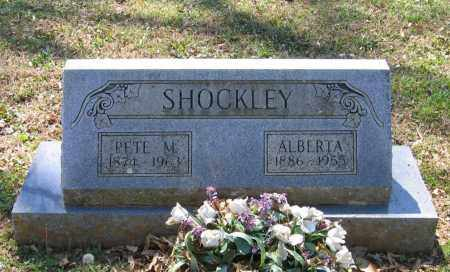 SHOCKLEY, ALBERTA - Lawrence County, Arkansas | ALBERTA SHOCKLEY - Arkansas Gravestone Photos