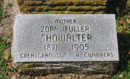 FULLER SHOWALTER, ZORA - Lawrence County, Arkansas | ZORA FULLER SHOWALTER - Arkansas Gravestone Photos