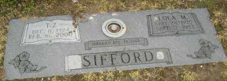 SIFFORD, T. Z. - Lawrence County, Arkansas | T. Z. SIFFORD - Arkansas Gravestone Photos