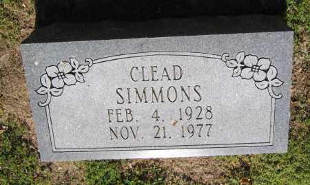 SIMMONS, CLEAD - Lawrence County, Arkansas | CLEAD SIMMONS - Arkansas Gravestone Photos
