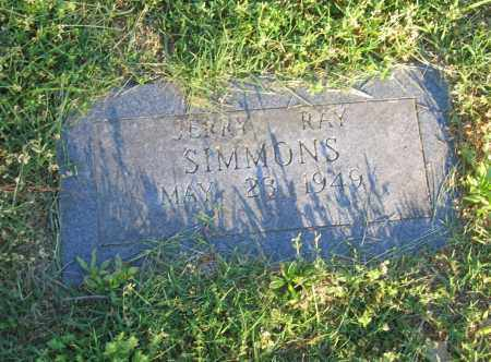 SIMMONS, JERRY RAY - Lawrence County, Arkansas | JERRY RAY SIMMONS - Arkansas Gravestone Photos