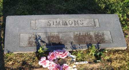 SIMMONS, LEROY LEVAN - Lawrence County, Arkansas | LEROY LEVAN SIMMONS - Arkansas Gravestone Photos