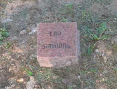 SIMMONS, LON - Lawrence County, Arkansas | LON SIMMONS - Arkansas Gravestone Photos