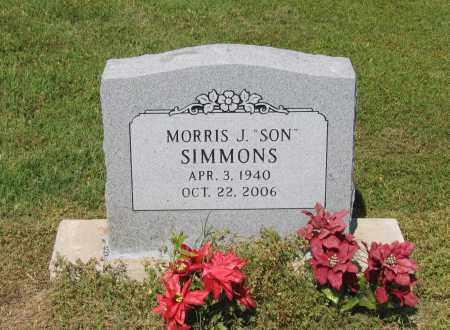 "SIMMONS, MORRIS J. ""SON"" - Lawrence County, Arkansas | MORRIS J. ""SON"" SIMMONS - Arkansas Gravestone Photos"