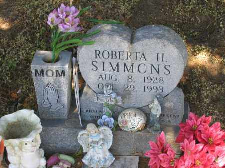 SIMMONS, ROBERTA H. - Lawrence County, Arkansas | ROBERTA H. SIMMONS - Arkansas Gravestone Photos
