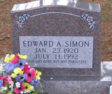 SIMON, EDWARD A. - Lawrence County, Arkansas   EDWARD A. SIMON - Arkansas Gravestone Photos