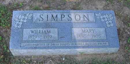 SIMPSON, WILLIAM - Lawrence County, Arkansas | WILLIAM SIMPSON - Arkansas Gravestone Photos