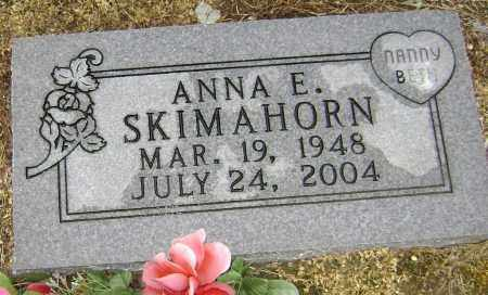 MARTIN SKIMAHORN, ANNA ELIZABETH - Lawrence County, Arkansas | ANNA ELIZABETH MARTIN SKIMAHORN - Arkansas Gravestone Photos