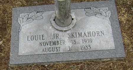 SKIMAHORN JR, LOUIE - Lawrence County, Arkansas | LOUIE SKIMAHORN JR - Arkansas Gravestone Photos