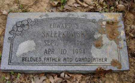 SKLEPKOWSKI, EDWARD S. - Lawrence County, Arkansas   EDWARD S. SKLEPKOWSKI - Arkansas Gravestone Photos