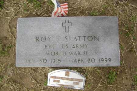 SLATTON  (VETERAN WWII), ROY THOMAS - Lawrence County, Arkansas | ROY THOMAS SLATTON  (VETERAN WWII) - Arkansas Gravestone Photos