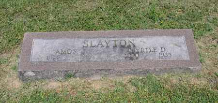 SLAYTON, AMOS J. - Lawrence County, Arkansas | AMOS J. SLAYTON - Arkansas Gravestone Photos