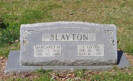SLAYTON, MARGARET M. - Lawrence County, Arkansas | MARGARET M. SLAYTON - Arkansas Gravestone Photos