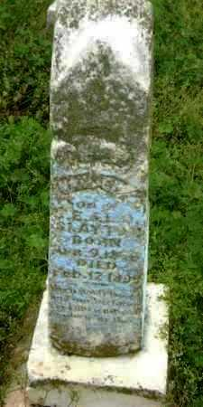 SLAYTON, UNKNOWN - Lawrence County, Arkansas | UNKNOWN SLAYTON - Arkansas Gravestone Photos