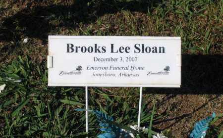 SLOAN, BROOKS LEE - Lawrence County, Arkansas | BROOKS LEE SLOAN - Arkansas Gravestone Photos