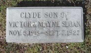 SLOAN, CLYDE - Lawrence County, Arkansas | CLYDE SLOAN - Arkansas Gravestone Photos