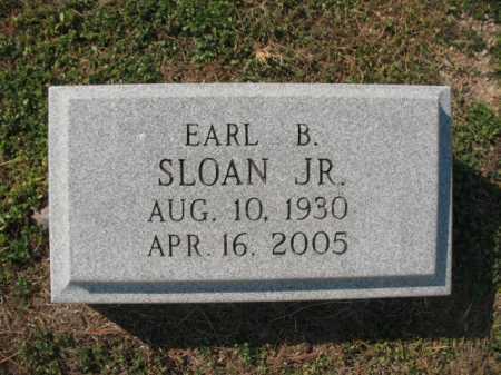 SLOAN, JR., EARL BABER - Lawrence County, Arkansas   EARL BABER SLOAN, JR. - Arkansas Gravestone Photos